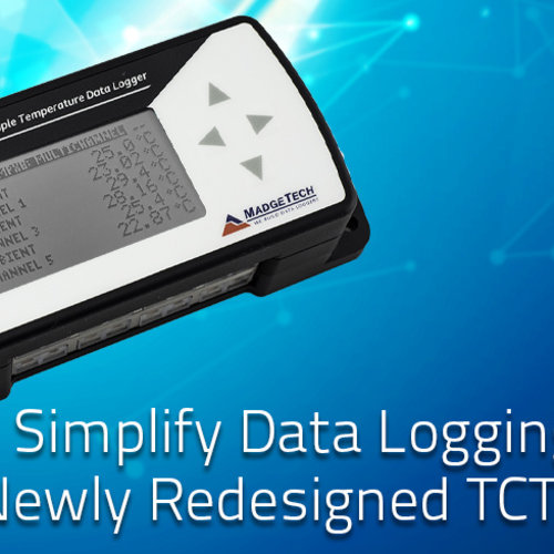 The new Madgetech TCTempXLCD Thermocouple Data Logger