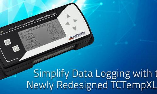 De nieuwe Madgetech TCTempXLCD Thermokoppel Data Logger