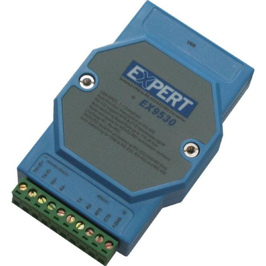 EX9530 - USB naar RS485 / RS422 / RS232 Converter met RS232 Handshake-1