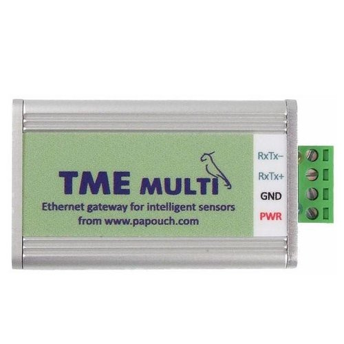 Papouch TME multi: Temperature and humidity via Ethernet
