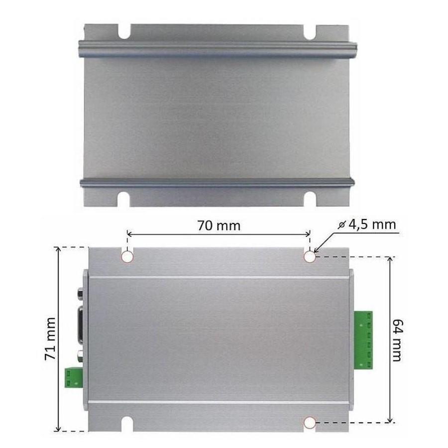 LD232 - RS232 serial line extender-3