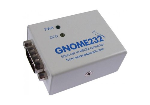 Papouch GNOME232 - Ethernet naar RS232-converter