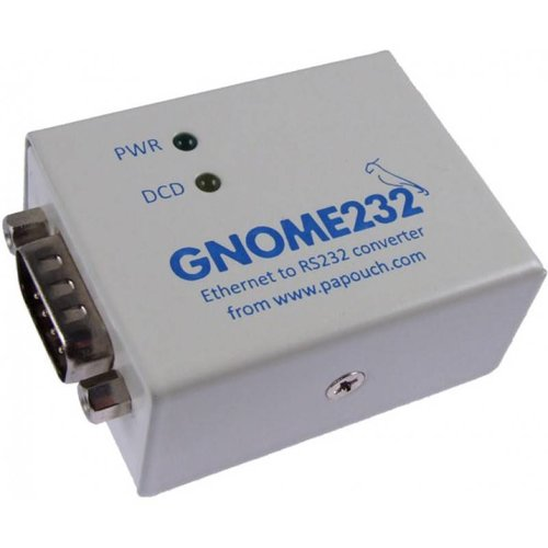 Papouch GNOME232 - Ethernet to RS232 converter