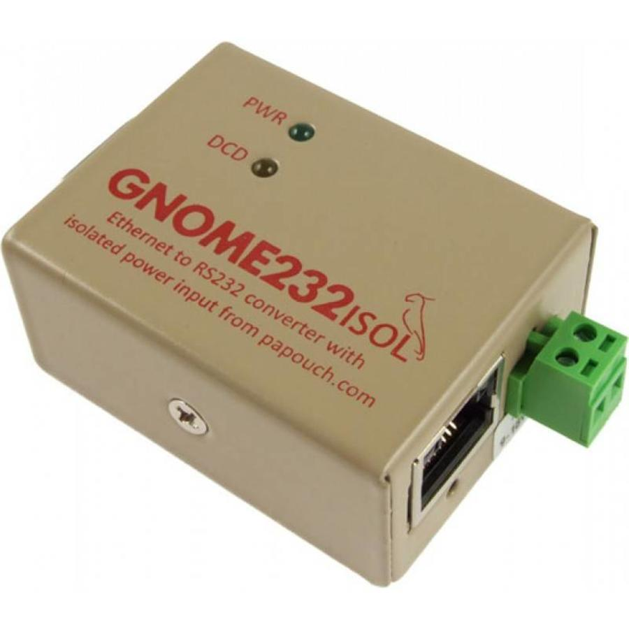 GNOME232 - Ethernet to RS232 converter-3