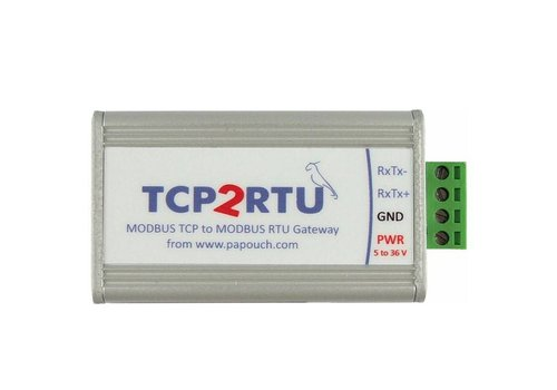 Papouch TCP2RTU RS485 - MODBUS TCP naar MODBUS RTU-converter