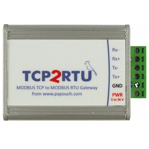 Papouch TCP2RTU-RS422 - MODBUS TCP to MODBUS RTU Converter