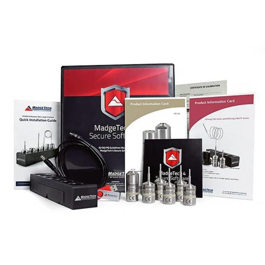 AVS140-6 Autoclaaf Validatie Datalogging Systeem-5