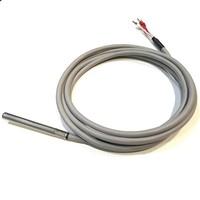 thumb-PT100/4-wire Temperatuur Sensor, 3 meter silicon cable-1
