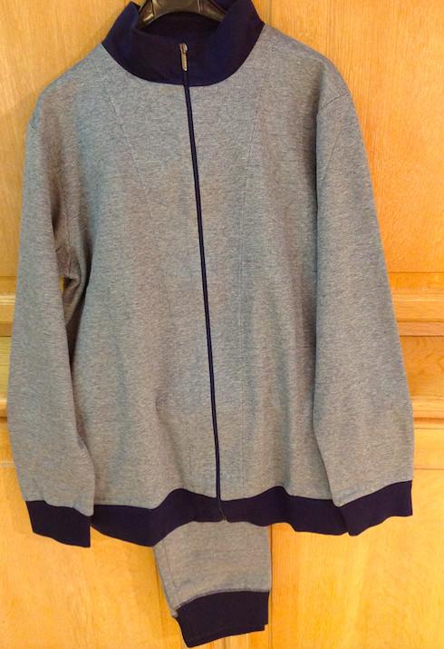 Zimmerli 1318 BON VIVANT Zipper jas en jogging broek (Thuis Jogging)