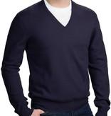 Piet Nollet Pullover Extra Fijne Merino Wol  /  Navy