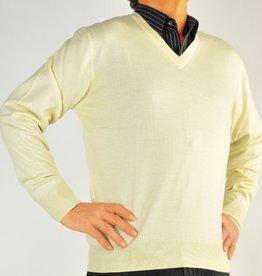 Piet Nollet Pullover Extra Fine Merino Wool - / Yellow - Yellow