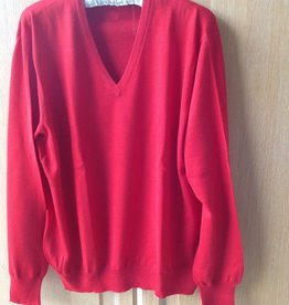 Piet Nollet Pullover Extra Fine Merino Wool - RED