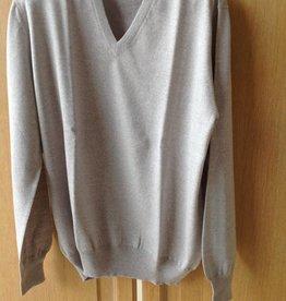 Piet Nollet Pullover Extra Fine Merino Wool - NATUREL