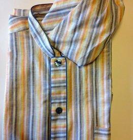 Piet Nollet Nightgown with sleep cap for men (in 55% Linen and 45% Cotton)