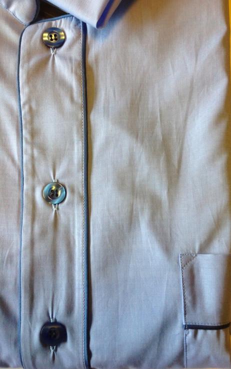 Piet Nollet Nightwear with men's sleeveless hood