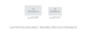 Habidecor MISTRAL badtapijt - 100 % LINNEN - 2000gr/ m2