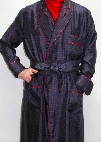 Piet Nollet Robe De Chambre Classique Pour Homme 100 Soie Imprimee Piet Nollet
