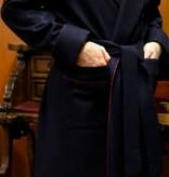 Piet Nollet KAMERJAS klassiek voor MANNEN in 100% CASHMERE met PASSEPOIL
