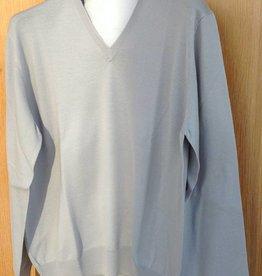Piet Nollet Pullover Extra fine Merino Wool / Light Gray