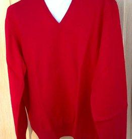 Piet Nollet Pullover Extra fine Merino Wool / Bordeau
