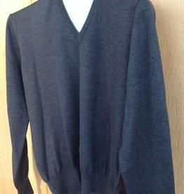 Piet Nollet Pullover Extra fine Merino wool / ANTHRACITE
