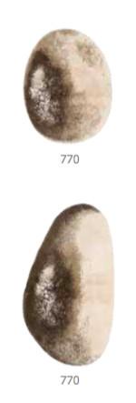 Habidecor Badtapijt   STONE    (100% gekamd KATOEN)   1900gr / m2