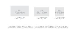 Habidecor Badtapijt EKO  :  100% ORGANIC COTTON | 2000gr/m2