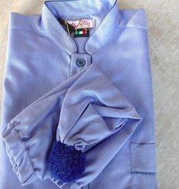 Piet Nollet Nachthemd met slaapmuts voor mannen Topkwaliteit Egyptisck KATOEN ( 2 X R.)