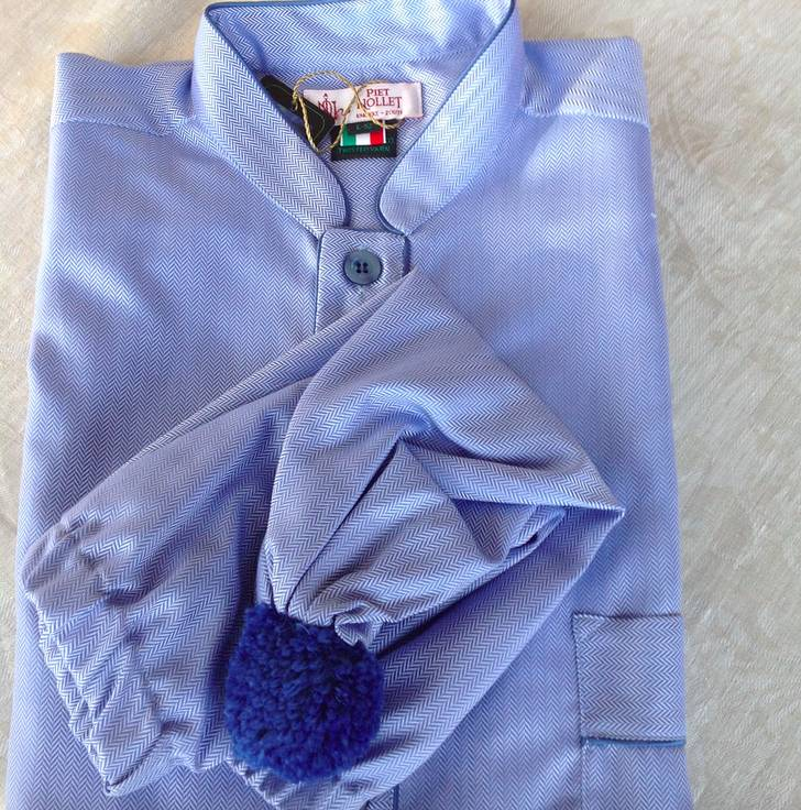 9cac7ee62 Piet Nollet / pietnollet Nightdress with sleep cap for men Top quality  Egyptisck COTTON (2 X R.)