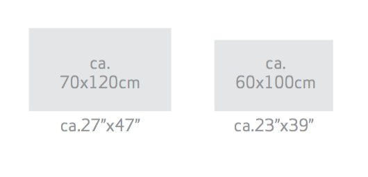 Habidecor Badtapijt: BAOBAB  55 % Giza- katoen lange draad - 45 % Acryl  1800gr / m2