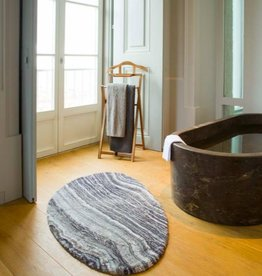 Habidecor BATH CARPET  : BALTUS 90% GIZA - EGYPTIAN COTTON LONG NOT 5% ACRYLIC | 5% LUREX | 2200gr / m2