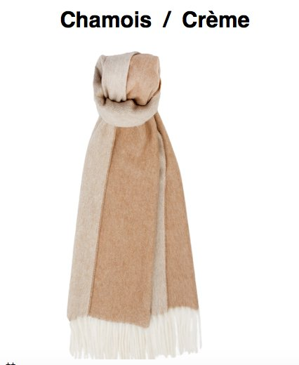 BVT Scarf CHANDIGARH - The luxury of cashmere in reversible mode