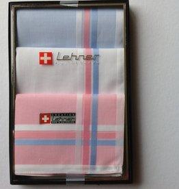 Lehner Handkerchiefs for women: 30/30 cm (per 3 pieces) (rolled by hand)