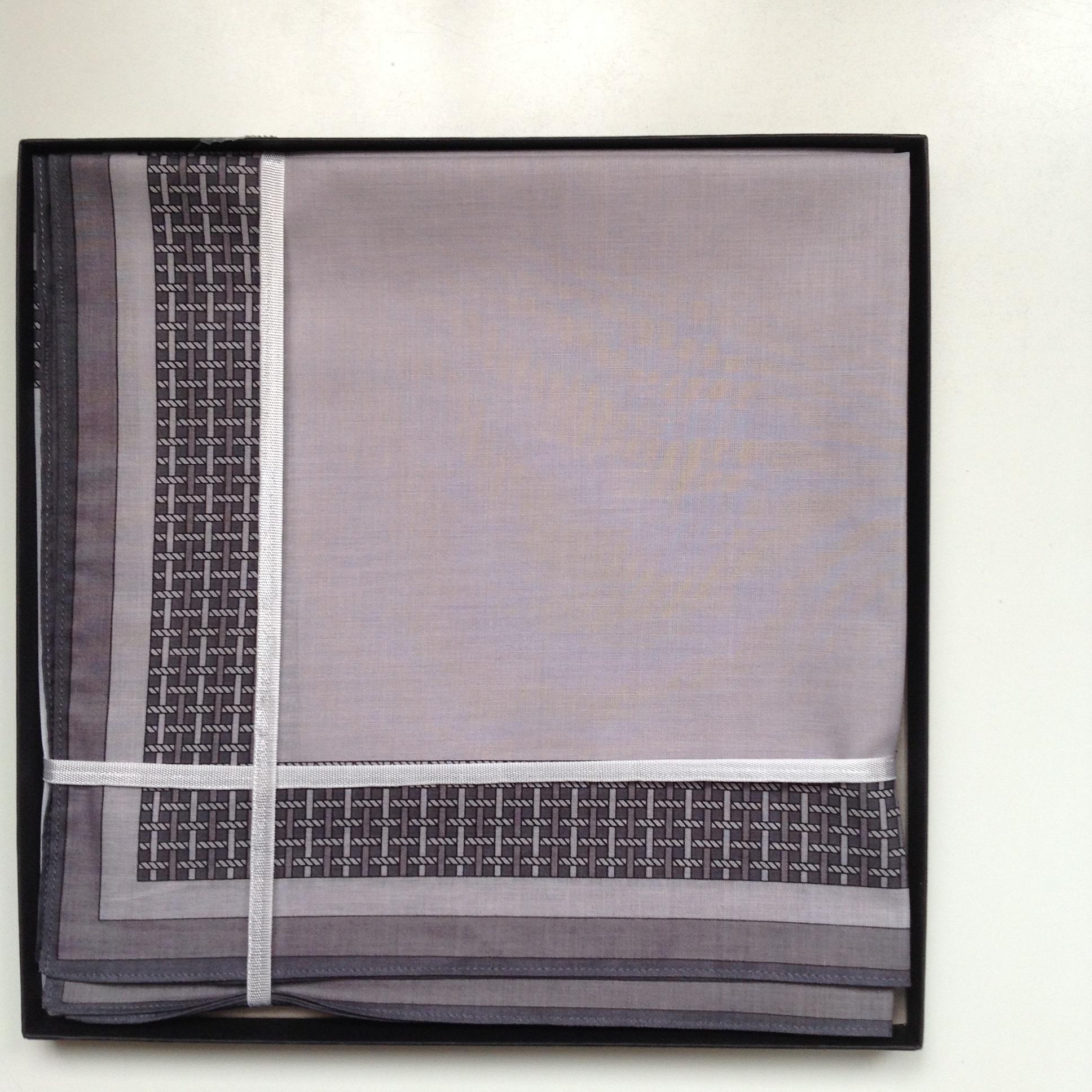 Lehner Handkerchief men per piece, 43/43 cm - - Copy