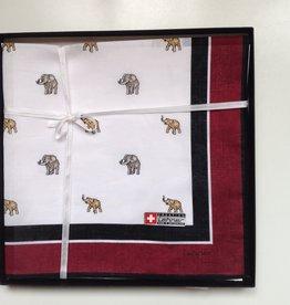 Lehner Handkerchief men per piece, 43:43 cm -