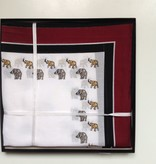 Lehner Handkerchief men per piece, 43/43 cm