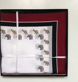 Lehner Handkerchief men each, 43:43 cm