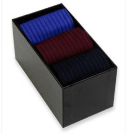 Pantherella Sokken mannen Danvers - Fil d'Ecosse - 3-paar in een doos 'Choose Your Colors' geschenkdoos