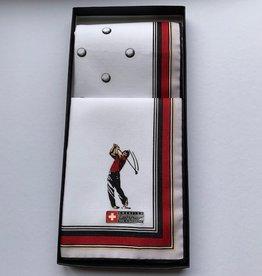Lehner Handkerchief men per 2 pieces, 43:43 cm / 1 box