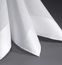 Lehner Men's handkerchiefs per piece 48/48 cm (hand rolled)