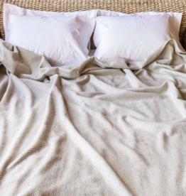 BVT Summer blanket MERILIN (20% Linen - 80% Merinowo) / 240 g / m2 l