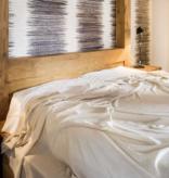 BVT Luxe deken  YANGIR ( Zeer licht 70 g/m2 ) , Gris naturel  Himalaya gebergte
