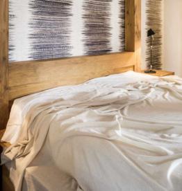BVT Luxury blanket YANGIR (Very light 70 g / m2), Gris natural Himalaya mountains