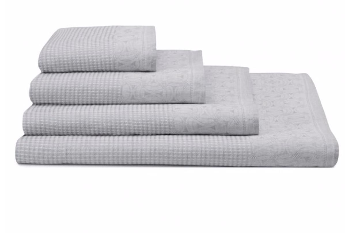 Le jacquard francais Lula  100% linnen badhanddoek + handdoek