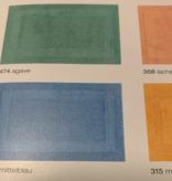 Cawö Badtapijt : ( art. 1000 ) 2 kanten , reversible ( 100 % gekampt katoen )