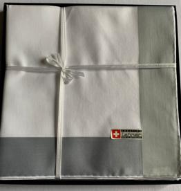 Lehner Men's handkerchiefs 48/48 cm, Swiss cotton RS 65005 per 6 pieces
