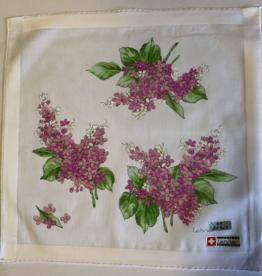 Lehner Handkerchiefs Ladies: 31/31 cm (Hand-rolled)