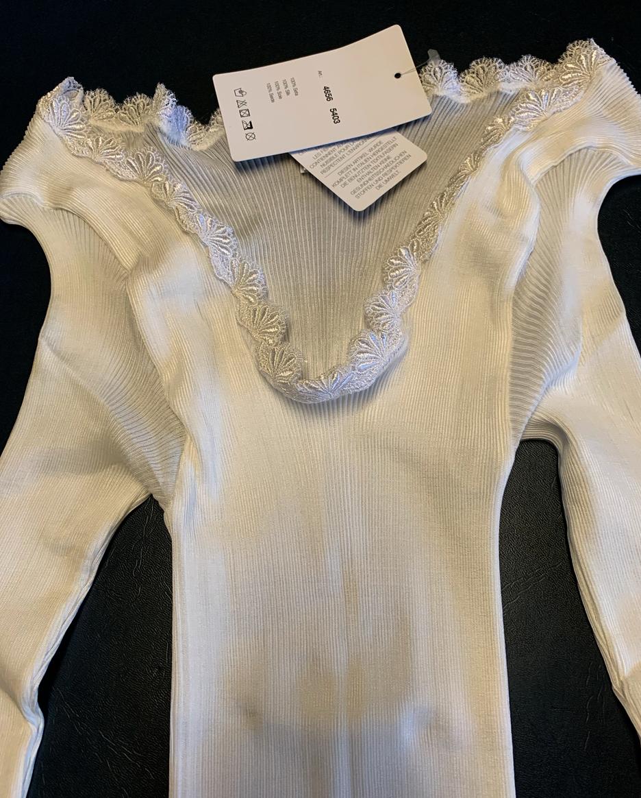Lisanza Shirt LS  dames met lange mouw in 100 % zijde