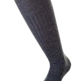 Bresciani Sokken ( 100 % wol )  Lange sok met lijntje / ( Per 3 stuks )