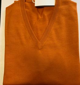 Piet Nollet Pull, / Modèle V / 100% laine extra fine mérinos